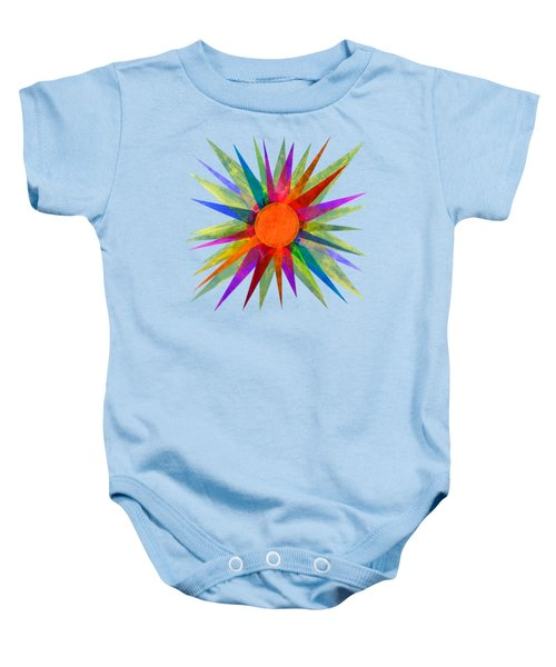 All The Colors In The Sun Baby Onesie