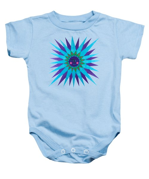 Jeweled Sun Baby Onesie