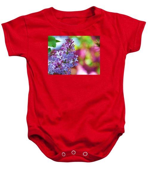 Lilacs 2012 Baby Onesie