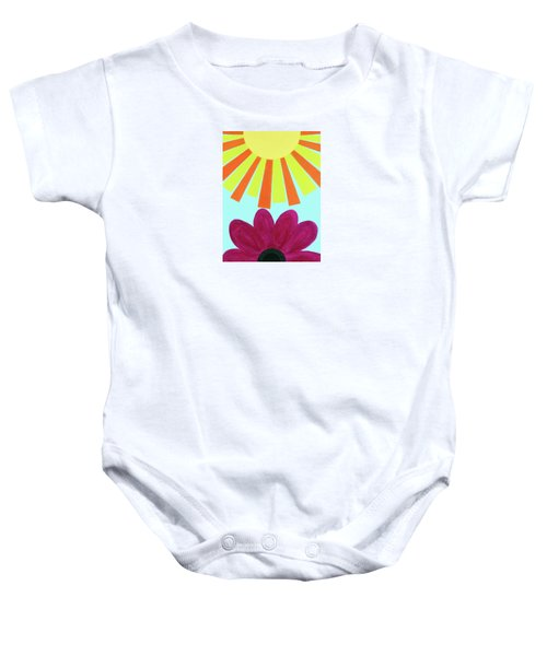 May Flowers Baby Onesie