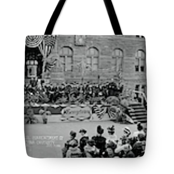 Commencement Georgetown University Tote Bag by Fred Schutz Collection