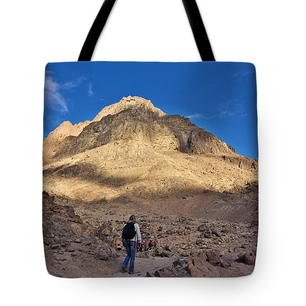 Mount Sinai Tote Bag