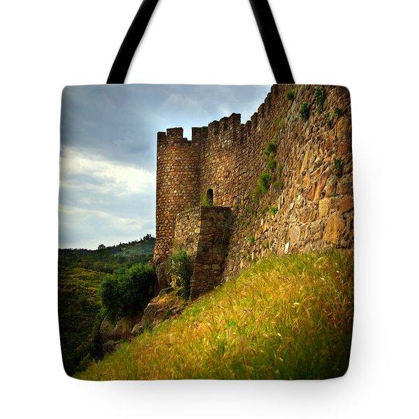 Belver Castle Tote Bag by Carlos Caetano