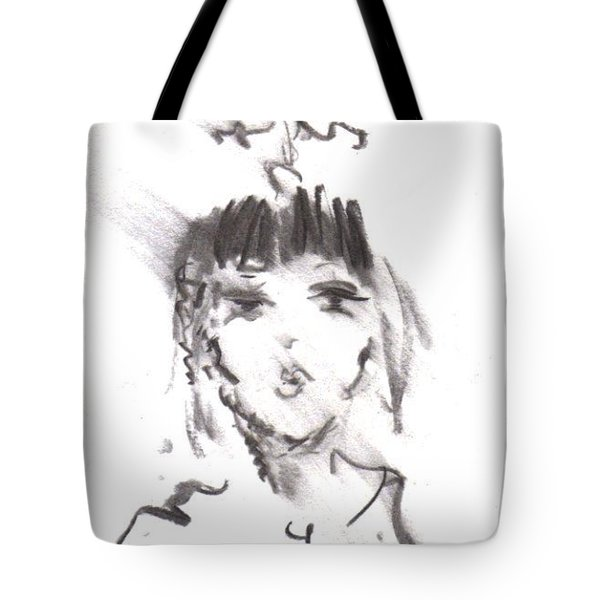 Queen Of Kisses Tote Bag by Laurie L