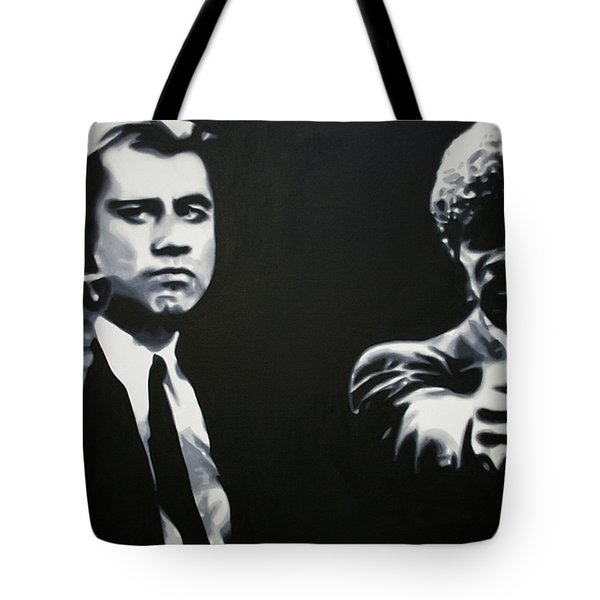 - Pulp Fiction - Tote Bag by Luis Ludzska