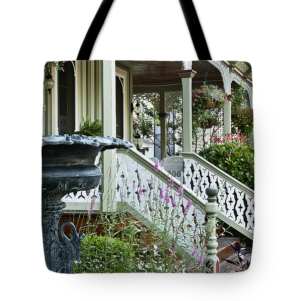 Cape May Victorian Tote Bag by John Greim