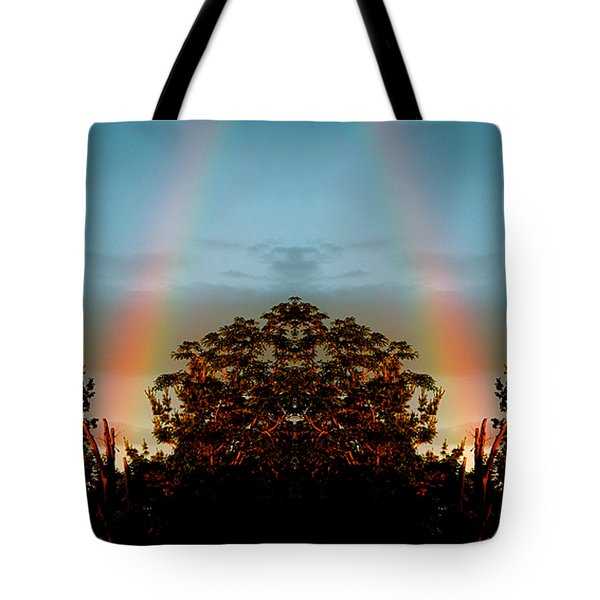 The Rainbow Effect Tote Bag by Sue Stefanowicz