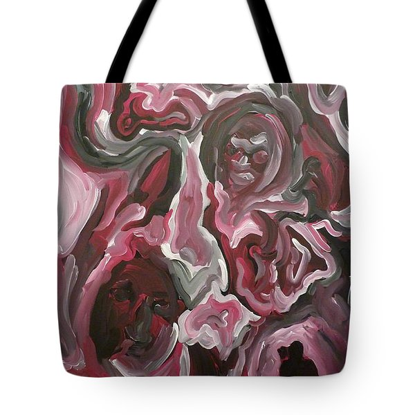 Tote Bag featuring the painting Untitled by Joshua Redman