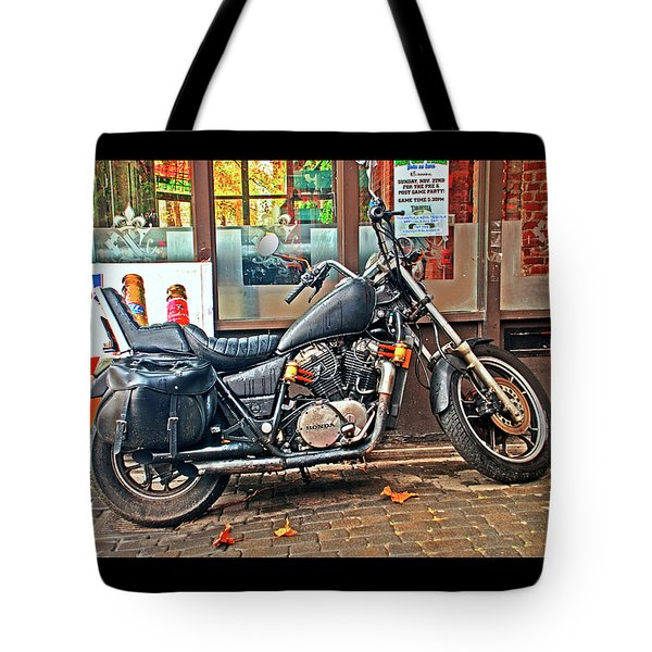 1983 Vt750 C Honda Shadow Tote Bag