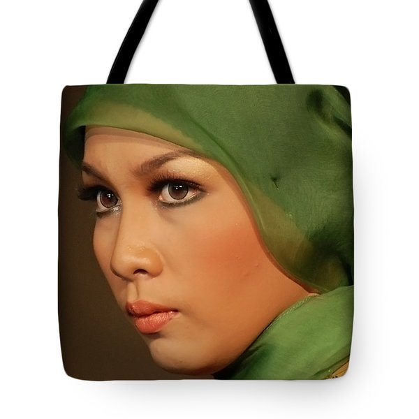 Portrait Tote Bag by Charuhas Images
