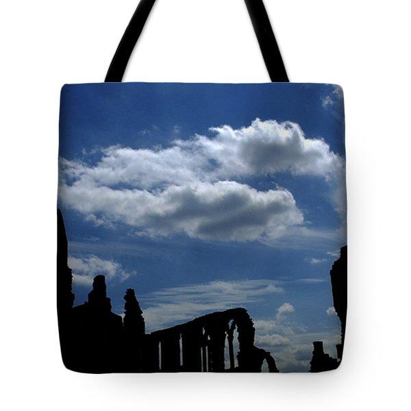 Abbey Skyline Tote Bag