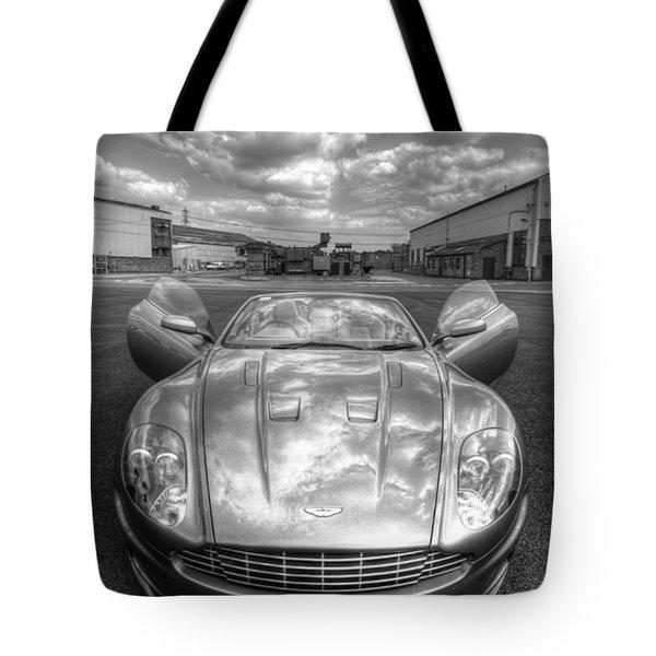 Aston Martin Dbs Tote Bag