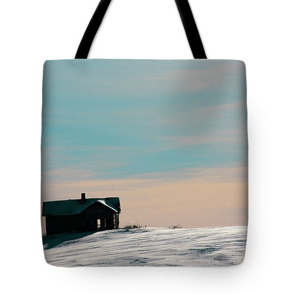 Baby Blue Tote Bag by Empty Wall