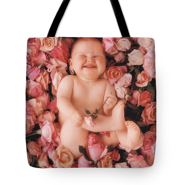 Baby Flowers 2 Tote Bag by Anne Geddes