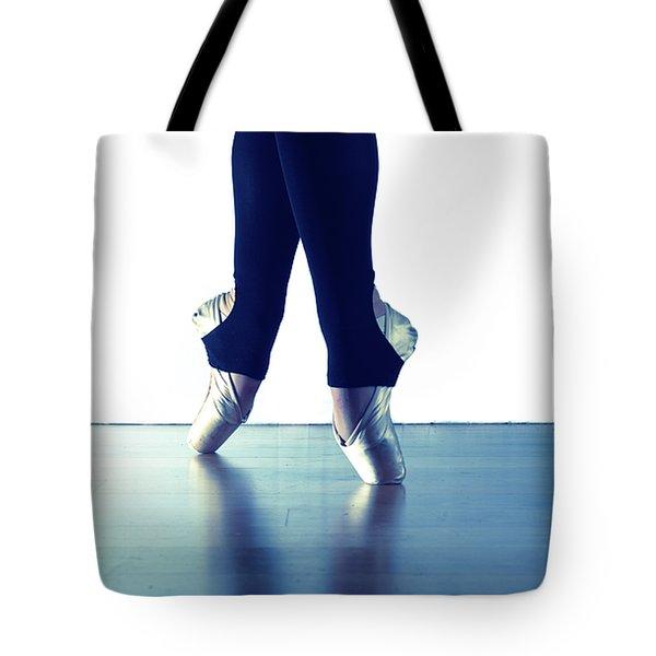 Ballet Feet 1 Tote Bag by Scott Sawyer