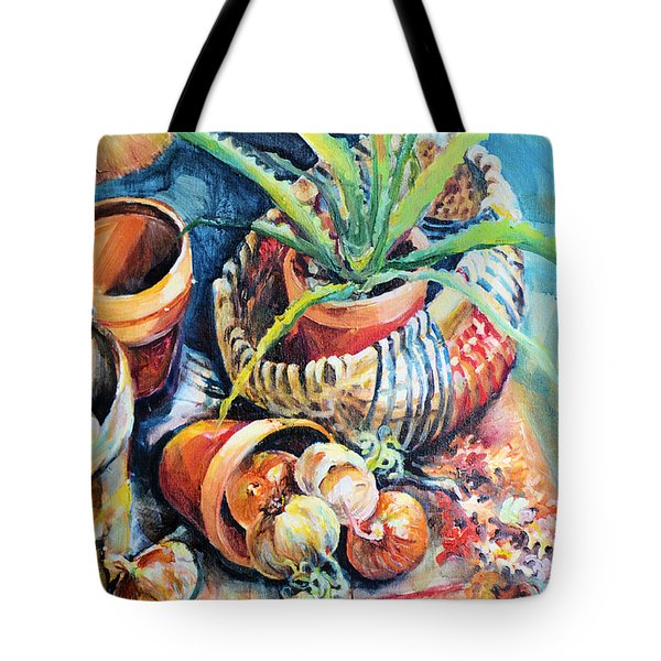 Baskets Tote Bag