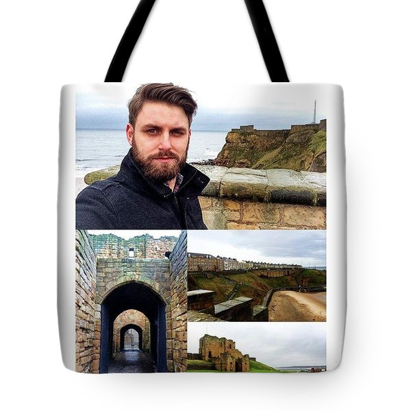 Beautiful Views Of The North Sea And Tote Bag