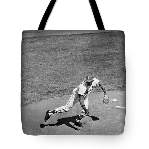 Bob Gibson (1935- ) Tote Bag by Granger