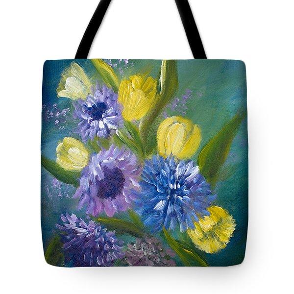 Bonnie Bouquet Tote Bag
