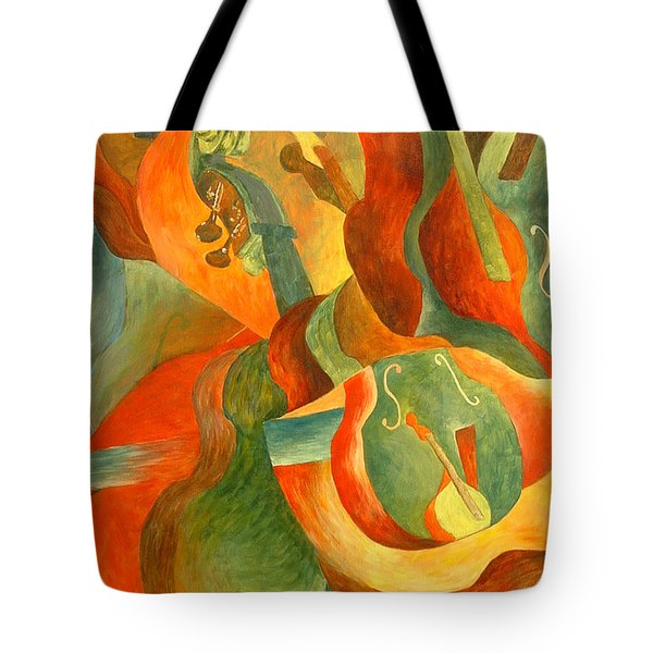 Broken Fiddle Study Tote Bag