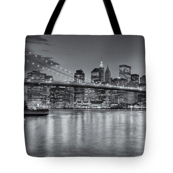 Brooklyn Bridge Twilight II Tote Bag