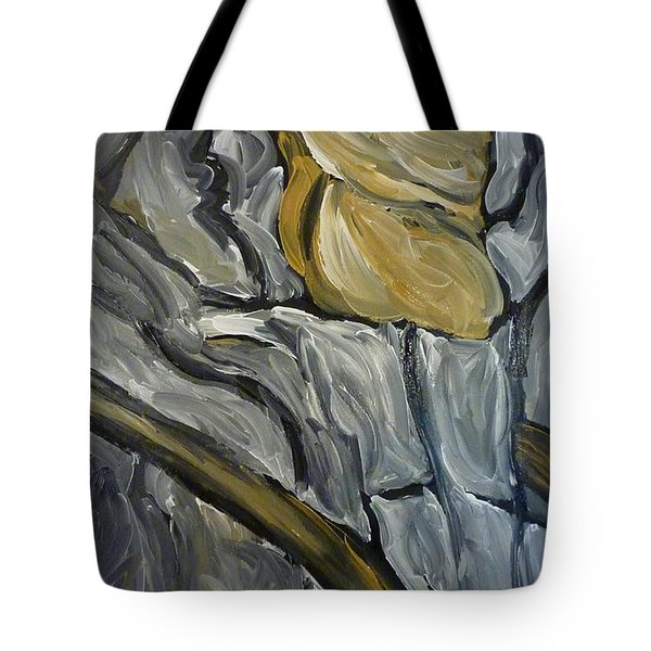 Tote Bag featuring the painting Chariot Rider by Joshua Redman
