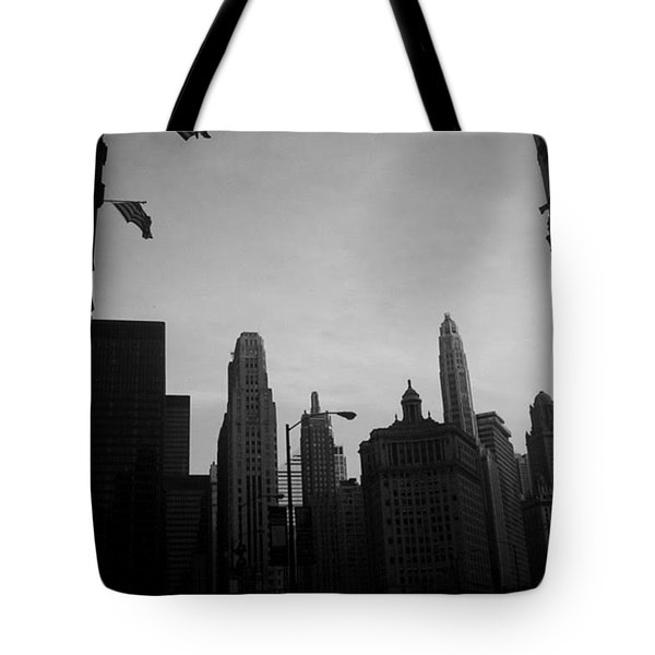 Chicago 3 Tote Bag
