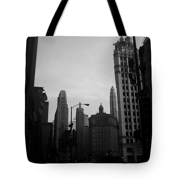 Chicago 4 Tote Bag