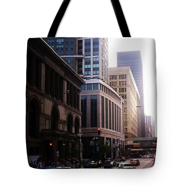 Chicago 6 Tote Bag
