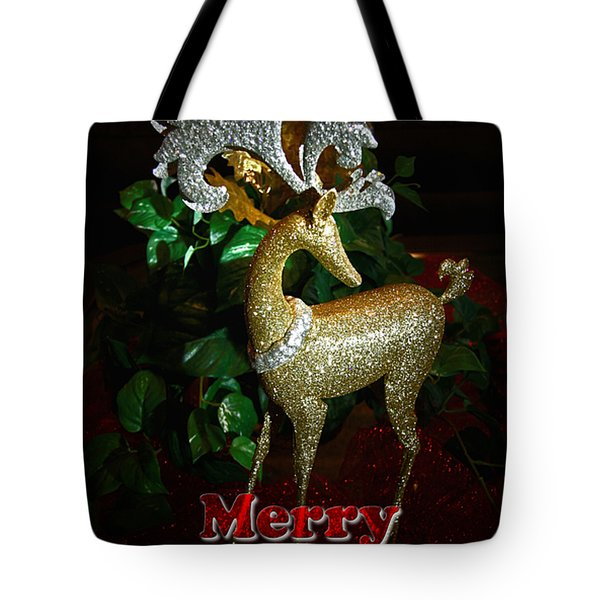Christmas Card Tote Bag by Chris Brannen