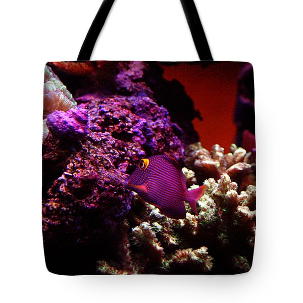 Colors Of Underwater Life Tote Bag