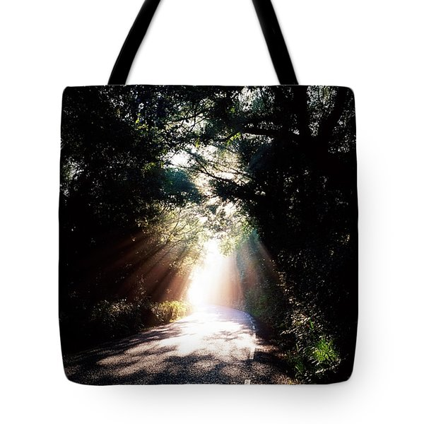 Country Road, Kenmare, Co Kerry, Ireland Tote Bag by The Irish Image Collection