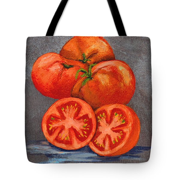 Creole Tomatoes Tote Bag by Elaine Hodges