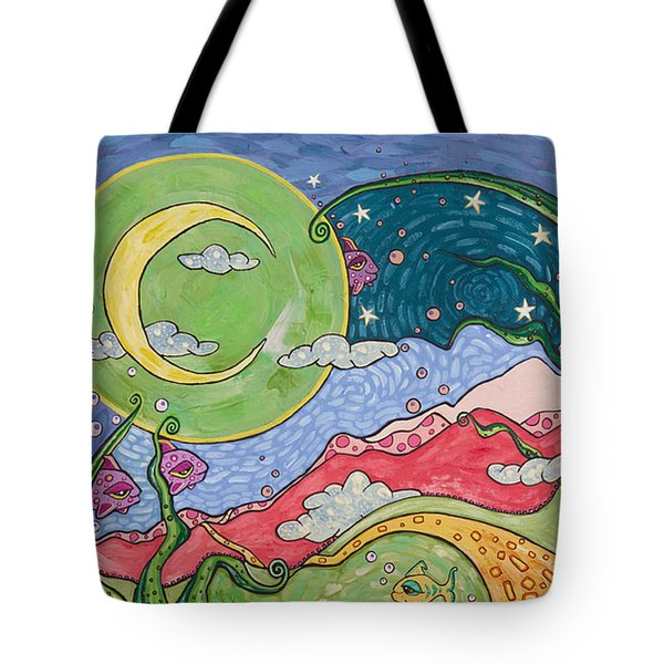 Daydreaming Tote Bag by Tanielle Childers