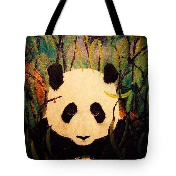 Endangered Panda Tote Bag