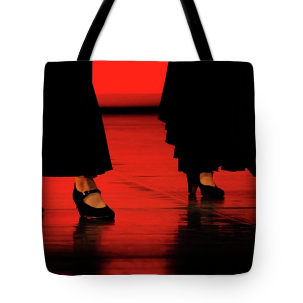 Tote Bag featuring the photograph Flamenco 2 by Pedro Cardona