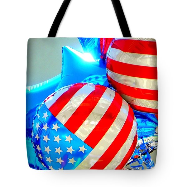 Floating Colors Tote Bag
