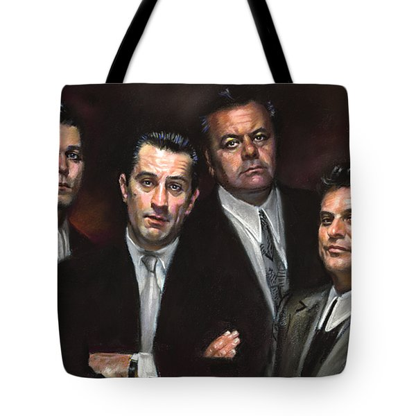 Goodfellas Tote Bag by Ylli Haruni