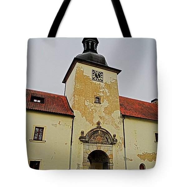 Half Past Eleven ... Tote Bag by Juergen Weiss