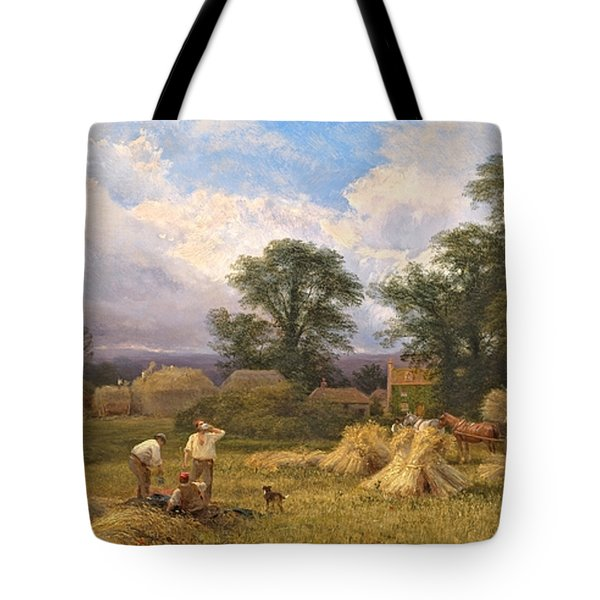 Harvest Time Tote Bag by GV Cole