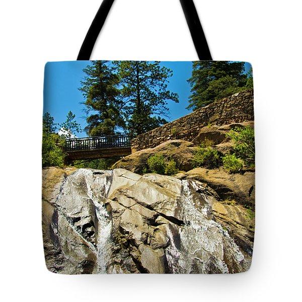 Helen Hunt Falls Tote Bag by Angelina Vick