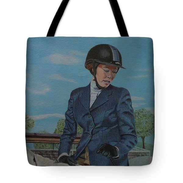 Horseshow Day Tote Bag
