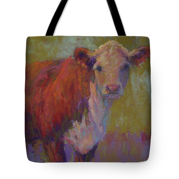 Iris Tote Bag by Susan Williamson
