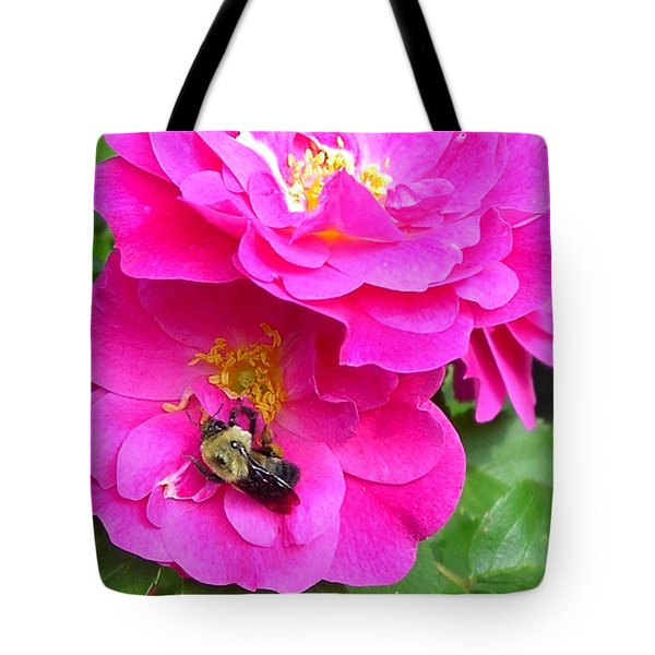 Jc And Bee Tote Bag by Mary-Lee Sanders