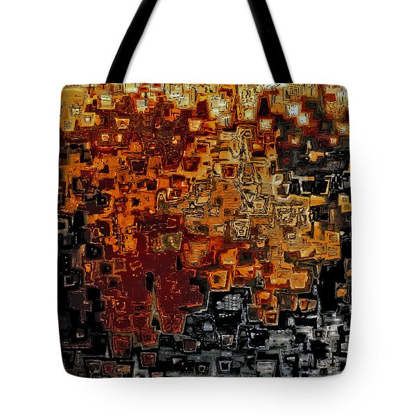 Jesus Christ The Counselor Tote Bag by Mark Lawrence