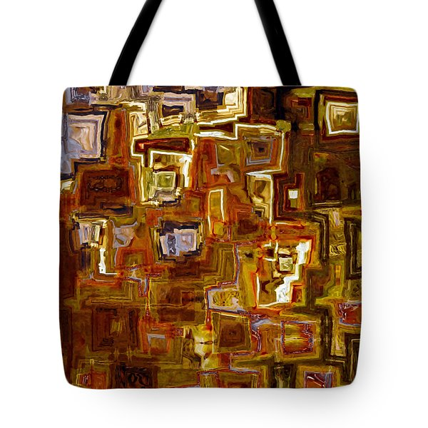 Jesus Christ The King Of The Ages Tote Bag by Mark Lawrence