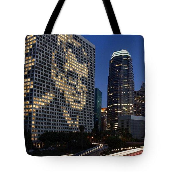 Joe Paterno City Scape Tote Bag by Paul Van Scott