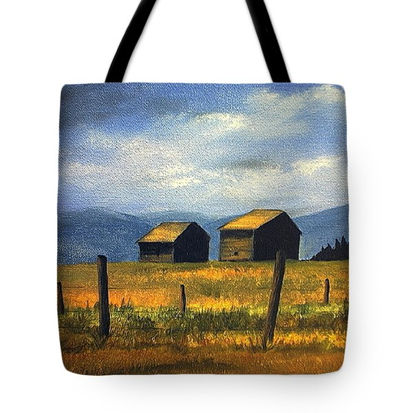 Kila Barns Tote Bag