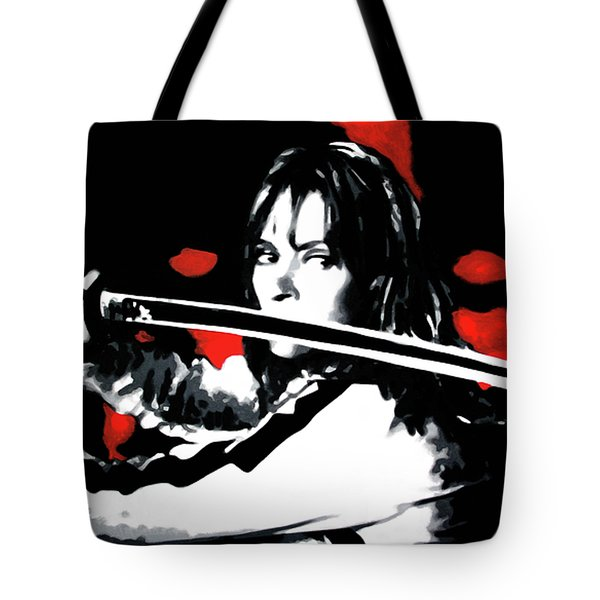 Kill Bill Tote Bag by Luis Ludzska
