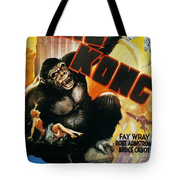 King Kong Poster, 1933 Tote Bag by Granger
